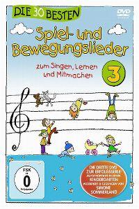 Cover Simone Sommerland - Die 30 besten Spiel- und Bewegungslieder 3 [DVD]